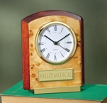Wood Grain Finished Clock 2526TG