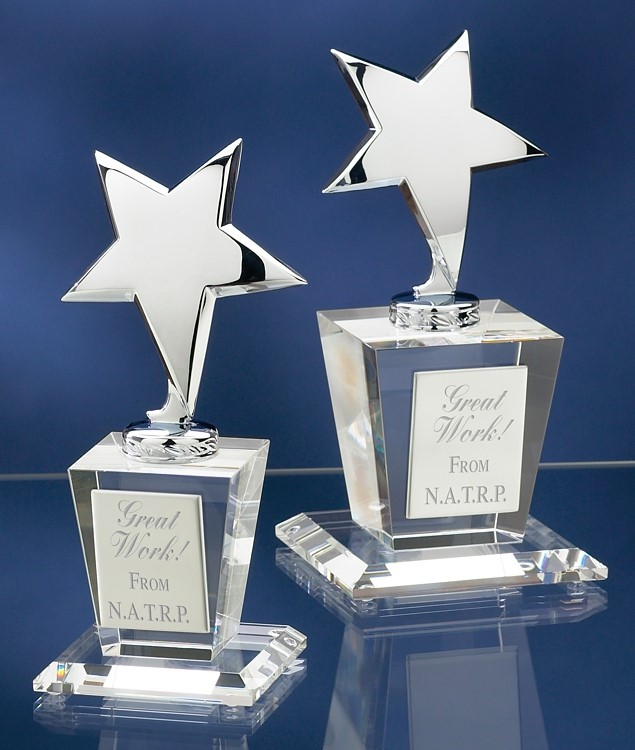 Silver Crystal Star Award 2758C