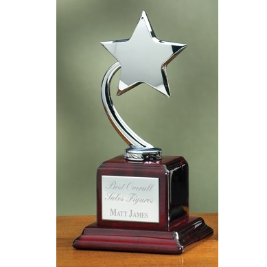 Silver Star Rosewood Award 2893C