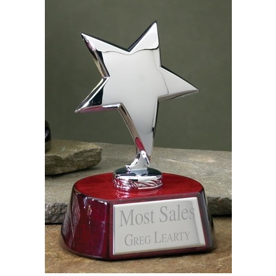 Rosewood Silver Star Award 3042C