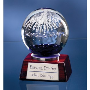 Sphere Glass Globe Art Award 3902RC