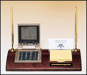 Multi Function Executive Desk Accessory With Engraved Plate 506