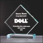 Diamond Jade Acrylic Award A2150