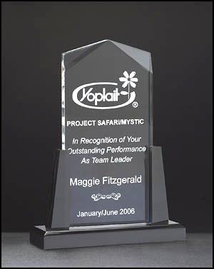 Acrylic Spire Award A6587
