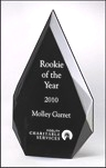 Contemporary Black Acrylic Award A6754