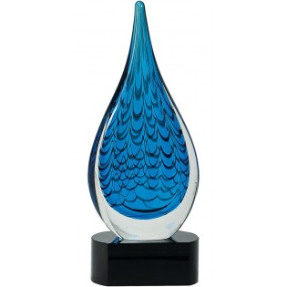 Rain Drop Glass Art AGS19