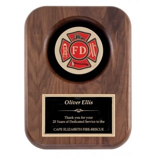 Fireman Insignia Plaque AT6