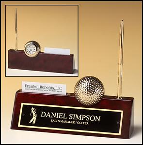Golf Rosewood Nameplate