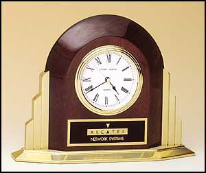 Art Deco Style Piano Finished Clock BC874