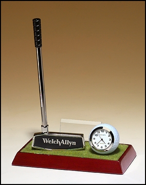 Clock and Pen Golf Award BC942