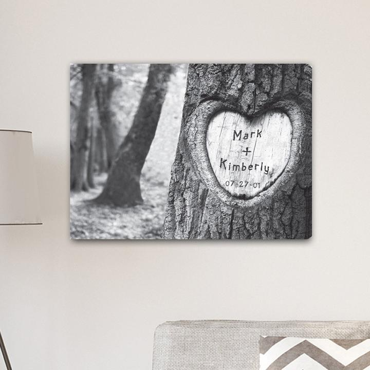 Personalized Tree Of Love Canvas CA0084