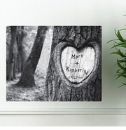 Personalized Tree Of Love Canvas Print CA0084