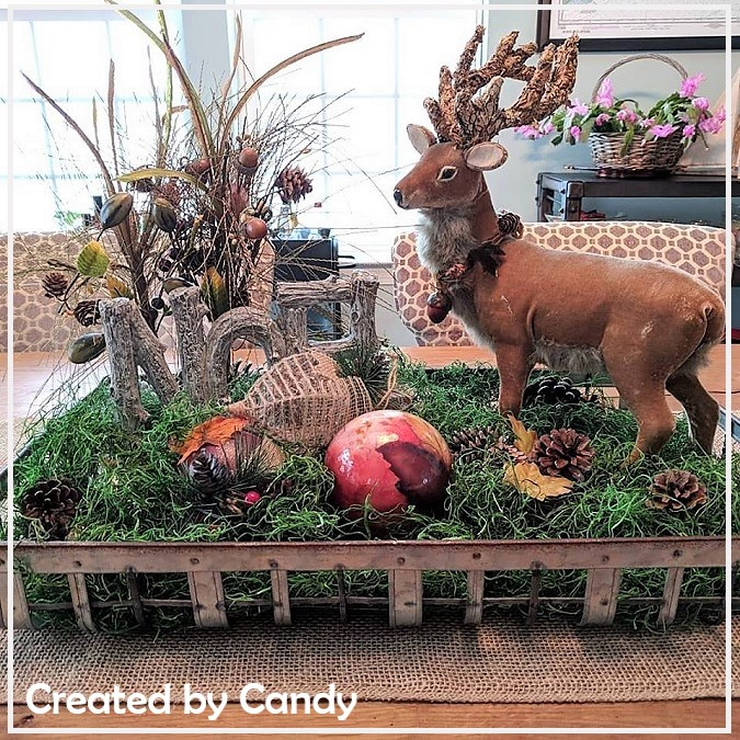 Noel Forest Centerpiece Holiday Decor Set CBC-NOEL