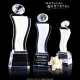 Hillton Diamond Tower Crystal Award CRICEA