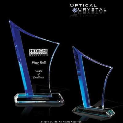 Melancholy Custom Crystal Award CRICVO