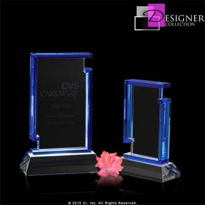 Cameo Stand Alone Crystal Plaque CRINIC