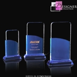 Sunset Stand Alone Crystal Trophy CRINMN