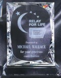 Optical Crystal Rectangle Award CRY111