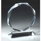 Optical Crystal Circle Award CRY62M