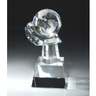 World In Your Hand Crystal Globe CRY75