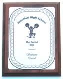 Cheerleading Pose Plaque Cheerleading Pose Plaque