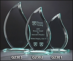 Flame Glass Award G2301