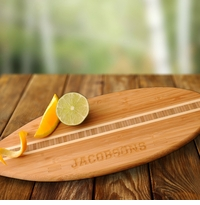 Surfs Up Engraved Bamboo Cutting Board GC1012