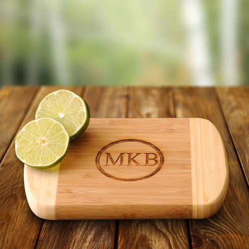 Lime Time Engraved Bamboo Cutting Board