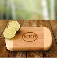 Lime Time Engraved Bamboo Cutting Board GC1015