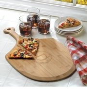 Engraved Bamboo Delizioso Pizza Baking Board GC1017
