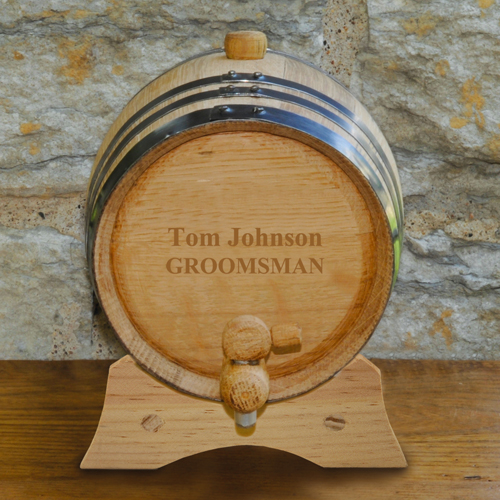Custom Mini Oak Keg Barrel GC1028