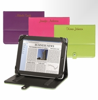 Laser Etched Personalized Flip Ipad and Tablet Case GC1034