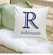 Personalized Family Name Throw Pillows GC1089