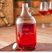 Frost Engraved 64oz Wine Jug GC1092