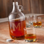 Personalized 64oz Whiskey Growler GC1094