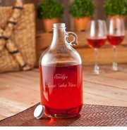 Frost Engraved 64oz Wine Jug Set GC1099