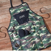 Personalized Camouflage Grilling Apron Set GC1103