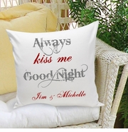 Personalized Couples Love Throw Pillows