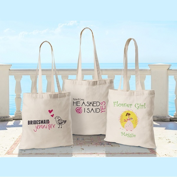 Custom Printed Bridesmaid Perfect Tote GC1117