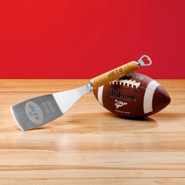 Engraved NFL Bbq Spatula and Bottle Opener GC1128