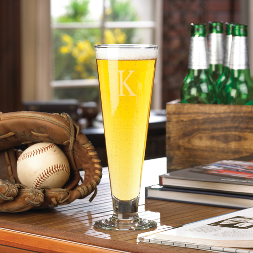 Personalized Classic 14oz Frosted Pilsner Glass