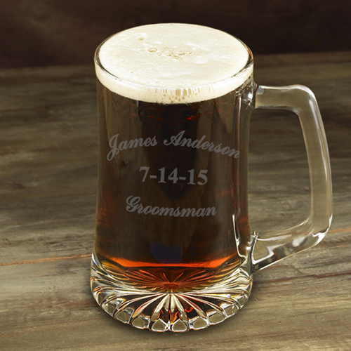 Custom 25oz Groomsman Sports Mug GC1254