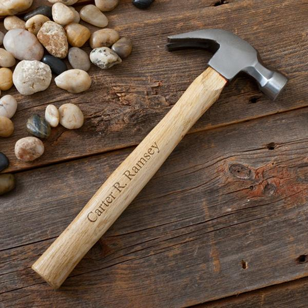 Engraved Excellent Neck Curved Claw Rustic Hammer GC1305