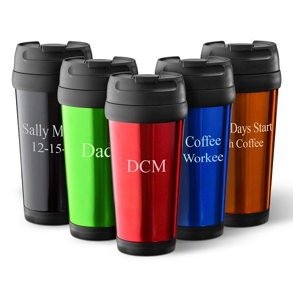 Personalized 16oz Colorxplosion Travel Tumbler GC1364