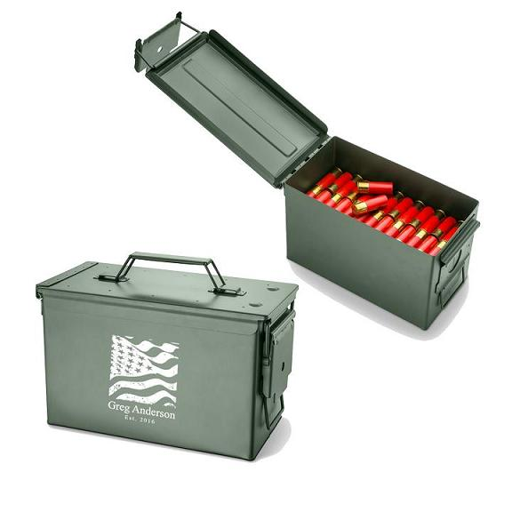 Personalized Trencher Ammo Box GC1409