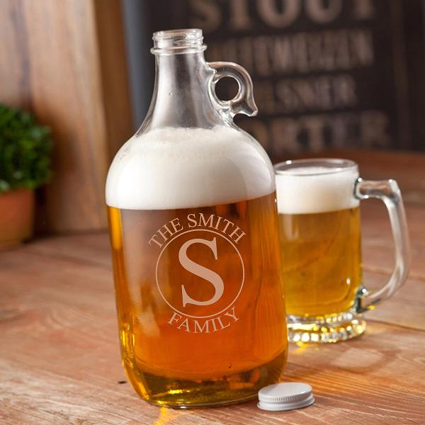 Personalized 64oz Beer Growler GC1467