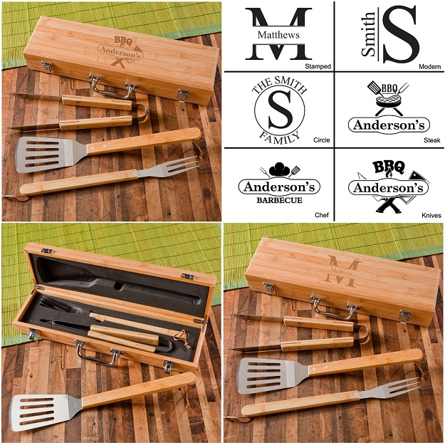 Personalized Grill Master Barbecue Set GC1477