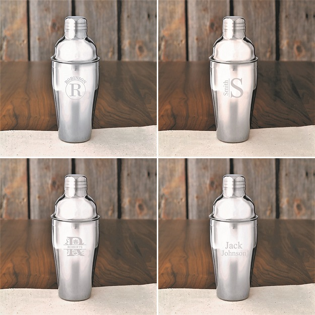 Engraved 20oz Cobbler Steel Shaker GC1485