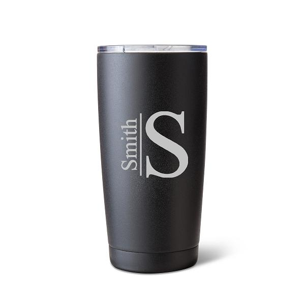 Husavik 20oz Black Matte Double Insulated Tumbler GC1522