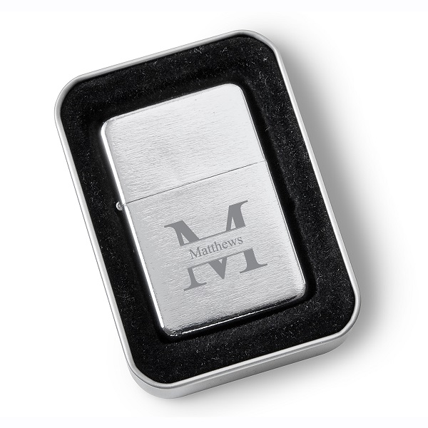 Personalized Stainless Steel Zippo Lighter GC1578